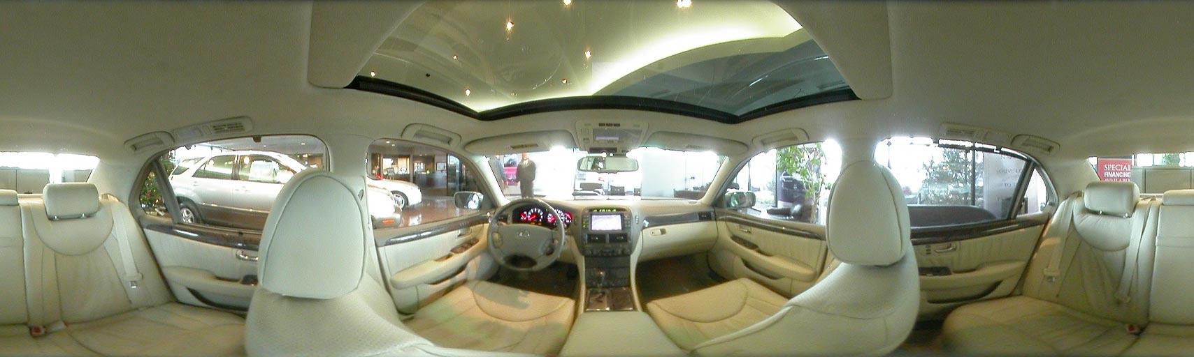 car interior 360 degree view. Black Bedroom Furniture Sets. Home Design Ideas